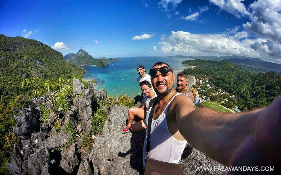 Cliff el nido Palawan