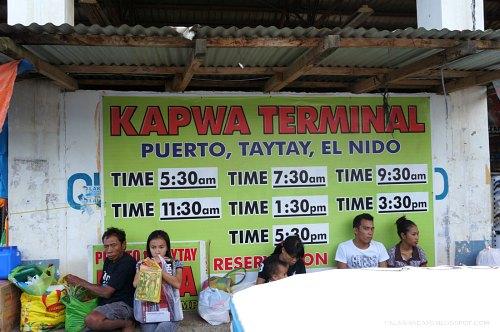 bus terminal puerto princesa palawan