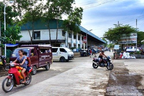 bus terminal puerto princesa to el nido roxas tay tay