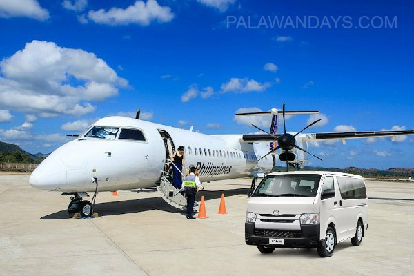 Private transfer airport busuanga to Coron town