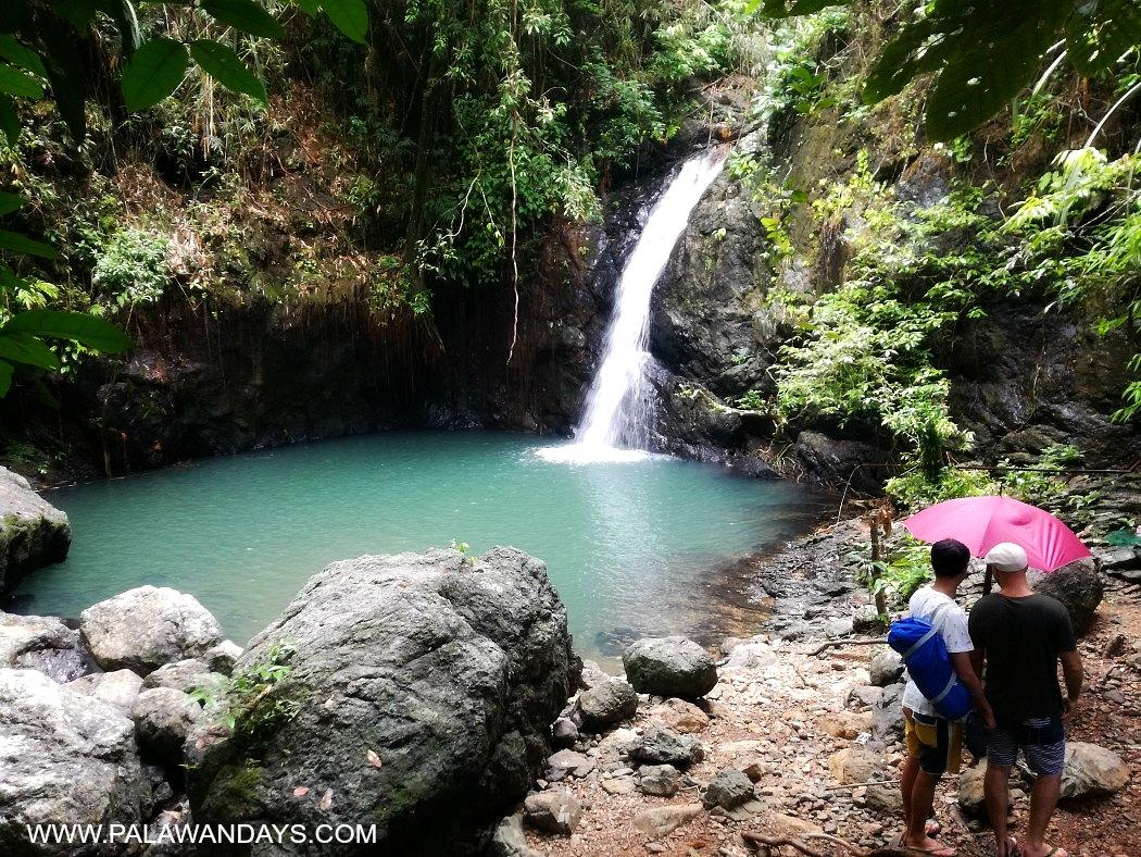 1 level Kuyawyaw Waterfalls