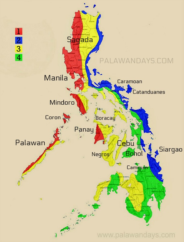Weather Palawan Philippines